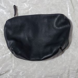 Street Level Black Clutch Hand Bag